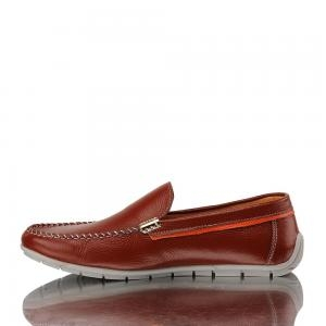 Fred Perry ® Hayes Canvas Red Leather
