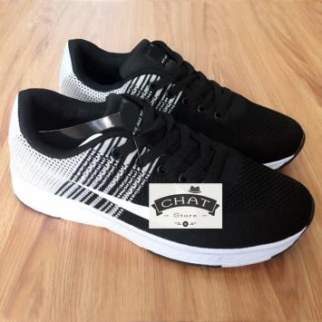 Giày Sneaker Nam Zoom Sọc Thời Trang - 076PL